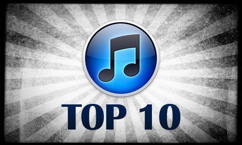 Classifica Itunes 10 Top hits